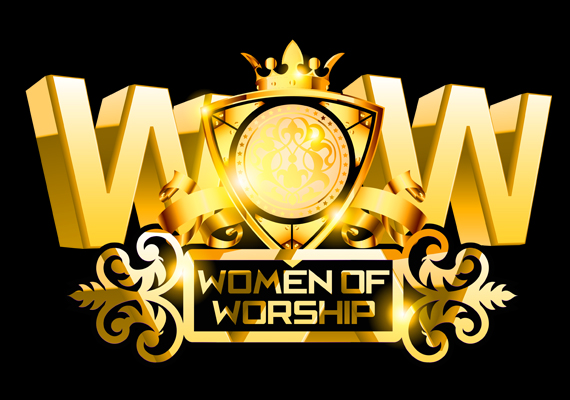 Logo for Women of Worship TV. Created using Photoshop and Illustrator.