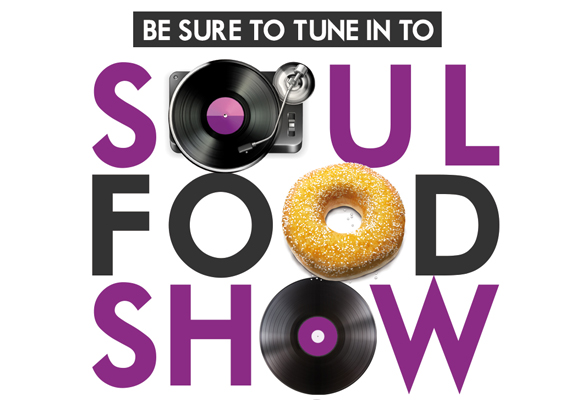 Poster Design for Soul Food Show on Ruach Radio - Created using Photoshop and Illustrator.