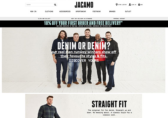 Website Design - Jacamo