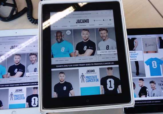 Freeformat Page for Postrate Cancer Jacamo Campaign