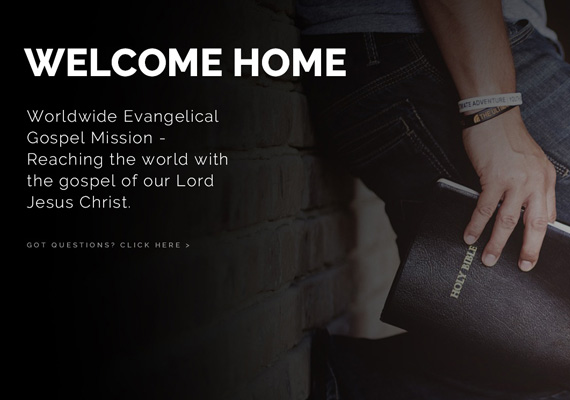 Website Design and Development for World Evangelical Gospel Mission